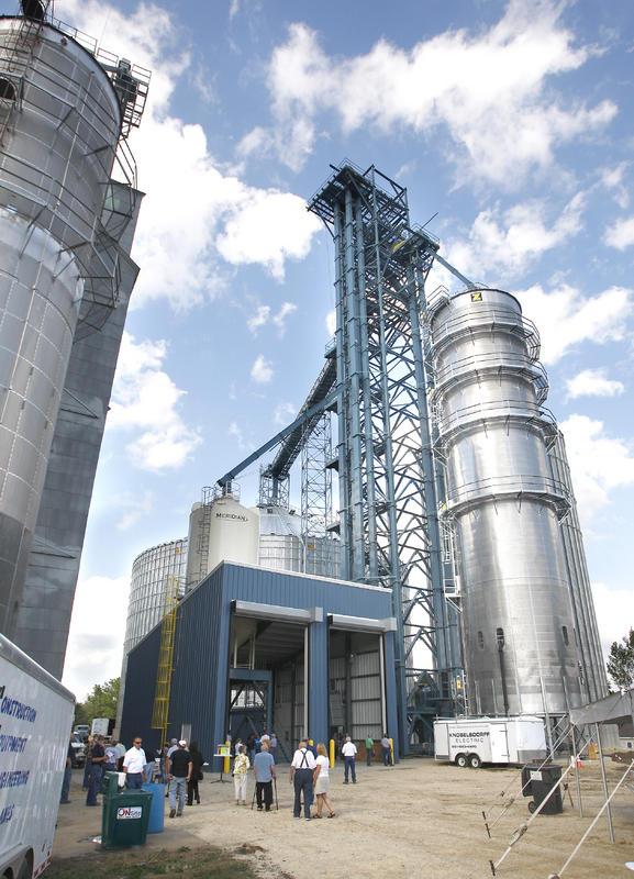 Commercial Grain Bin construction
