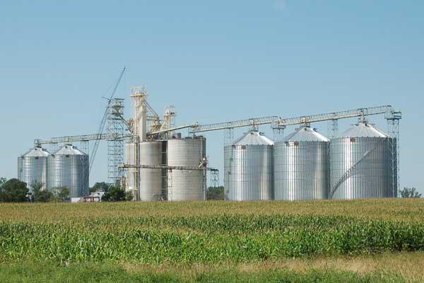 commercial grain bins